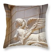 Sphinx Beauty Throw Pillow