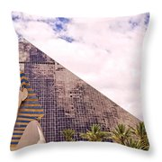 Sphinx Clouds Throw Pillow