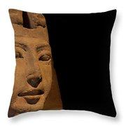 Sphinx On Black Throw Pillow