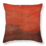 Spice- Abstract Art By Linda Woods Throw Pillow