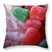 Spice Drops And Sugar Throw Pillow