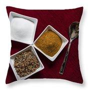 Spices  6070 Throw Pillow