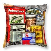 Spices 764 Throw Pillow