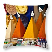 spices of Morocco Throw Pillow