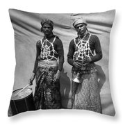 Spider Charmers Throw Pillow