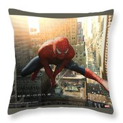 Spider-man 2 Throw Pillow
