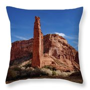 Spider Rock Throw Pillow