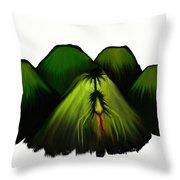 Spider Volcano Progression 2 Throw Pillow