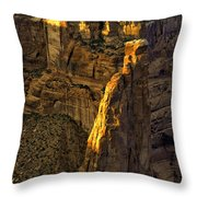 Spider Woman Rock One Throw Pillow