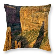 Spider Woman Rock Two Throw Pillow