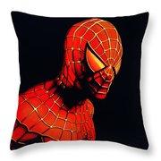 Spiderman Throw Pillow