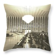 Spritual Connection Throw Pillow