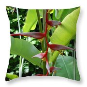 Spike Tree Throw Pillow