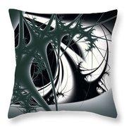 Spiky Bugs Throw Pillow