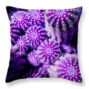 Spiky Bunch 1.1 Throw Pillow