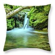 Spilling Over Dolomite Throw Pillow