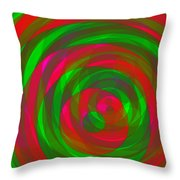Spin 1 Throw Pillow