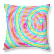 Spin 5 Throw Pillow