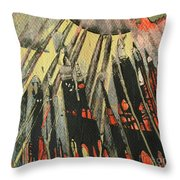 Spin Art Pen Series Throw Pillow