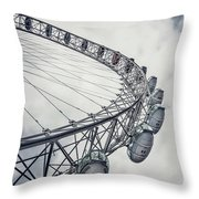 Spin Me Around Throw Pillow