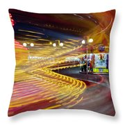 Spin Until Dizzy Throw Pillow