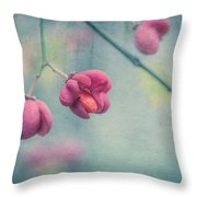 Spindle Tree Throw Pillow