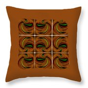 Spinners Throw Pillow