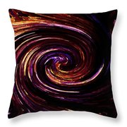 Spinning Around Throw Pillow