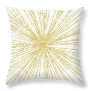 Spinning Gold- Art By Linda Woods Throw Pillow