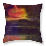 Spinning Light Throw Pillow