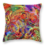 Spinning Loom Throw Pillow