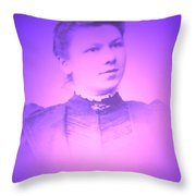 Spinster Lady Throw Pillow