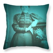 Spinster Woman Throw Pillow