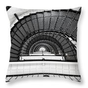 Spiral Ascent Throw Pillow
