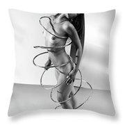 Spiral Bound Throw Pillow