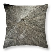 Spiral Confusion Throw Pillow