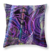 Spiral Detail From Annunciation Throw Pillow