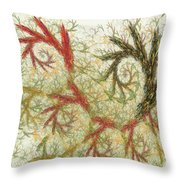 Spiral Embroidery Throw Pillow