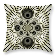 Spiral Eyes Throw Pillow