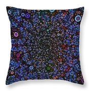 Spiral Gallexy Throw Pillow