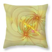 Spiral Mind Connection Throw Pillow