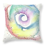 Spiral Of Emotions Throw Pillow