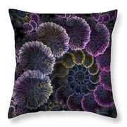 Spiral Of Fay Throw Pillow