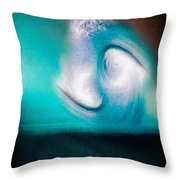 Spiral Realm Of Reflection - #2 Throw Pillow
