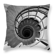 Spiral Staircase At The Arc Throw Pillow