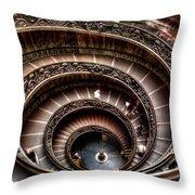 Spiral Staircase No1 Throw Pillow