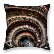 Spiral Staircase No2 Throw Pillow
