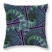 Spiral Staircases Throw Pillow