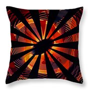 Spiral To Infinity Throw Pillow