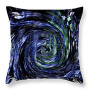 Spiral Vision Throw Pillow